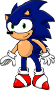 Sonic by Needlemouse