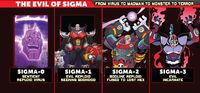 Worlds Unite Sigma Appearances