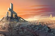 Onxy City concept artwork 1