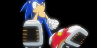 Hi-Speed Shoes (Sonic X)