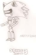 Mecha Sonic HYRO