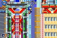 Hop Jump Sonic Advance 3