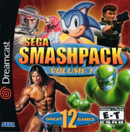 Sega Smash Pack (DreamCast)