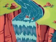 Sanpelagroso waterfall