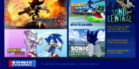Sonic the Hedgehog (website)