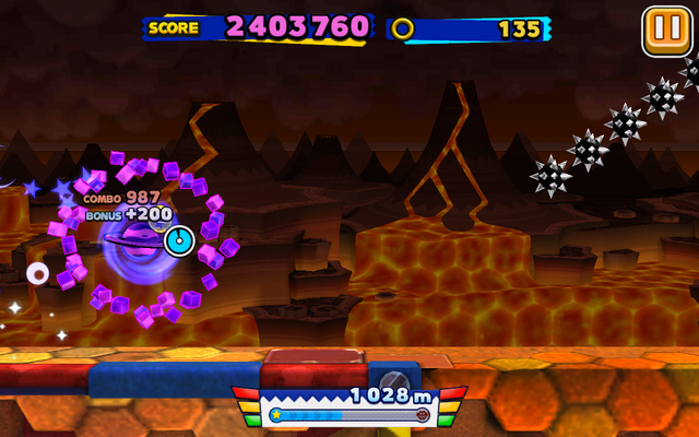 File:Lava Mountain (Sonic Runners) - Screenshot 4.png