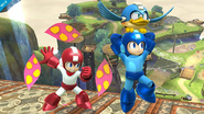 Mega Man Plant Barrier and Beat