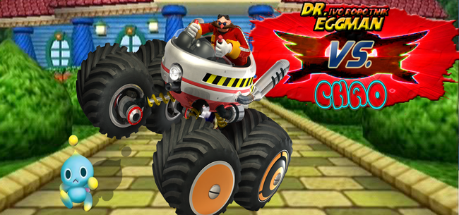 Robotnik-and-Chao-fight