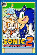 Sonic Advance 2 Card