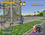 Harley LA Riders Sonic cameo