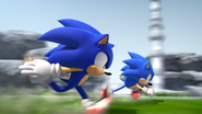 Sonic Generations - Opening - Sonics running