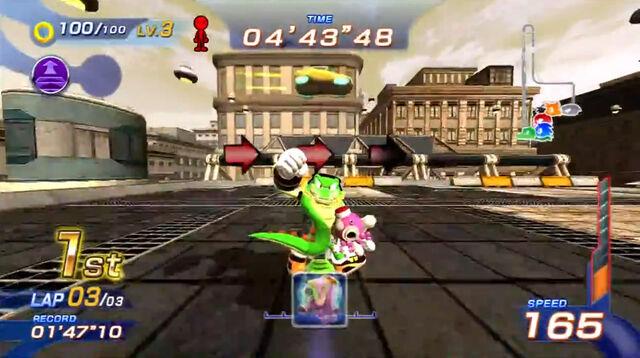 File:Sonic Free Riders - Vector Metropolis Speedway.jpg