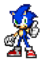 Sonic Thumbs Up Sprite