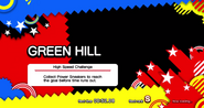 High Speed Challenge Title Card