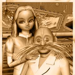 Gerald y Maria en <i><a href=
