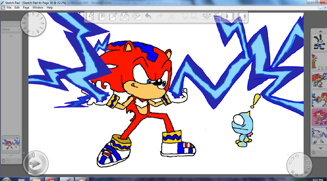File:Lightning With A Bolt And A Chao.png
