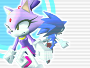 Sonic Rush Menu (Blaze)