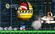 Flying Eggman Sonic the Hedgehog 4 Episode 1 4