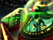 Shadow Androids in Sonic Heroes