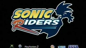 Sonic Rides Werbung