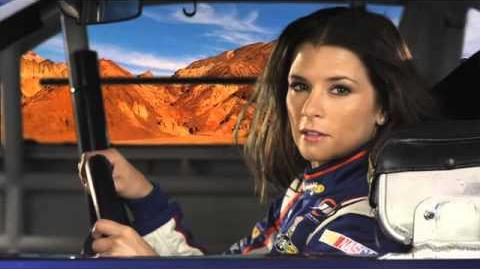 Sonic & All-Stars Racing Transformed - Danica Patrick TV Commercial