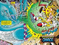 Perfect Chaos vs Super Sonic