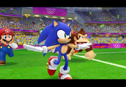 SonicMario London2012 Screenshot 1(Wii)