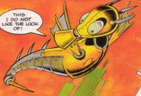 Aquis Sonic the Comic Profile