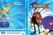 Sonic X Volume 5 AUS cover