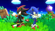 Sonic and Shadow in Windy Hill (5)