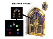 World Rings Door