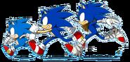 Triple Sonic Generations