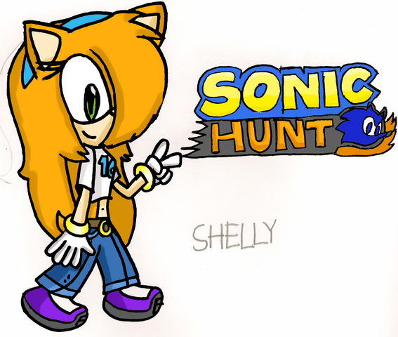 File:Shelly Sonic Hunt HYRO fanart for Sonicrox14.png
