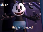 Oswald Does Not Like This