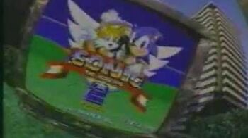 Sonic The Hedgehog 2 Commercial 1992 2