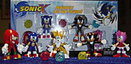 Sonic X Bendy Figures