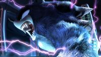 Sonic going Werehog Sonic Unleashed