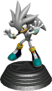 Sonic Generations Silver Statue