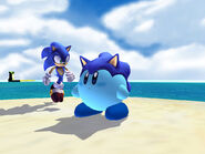 Sonic kirby and sonic by ss2sonic