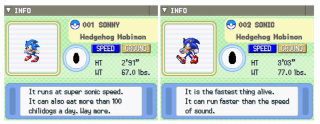 File:Sonic in the pokedex mobidex by zorathetwilightdrake-d7fxi9t.png
