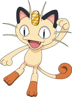 Meowth anime