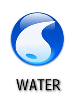 Water Type Symbol by falke2009