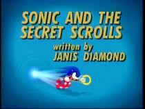 SonicAndTheSecretScrolls