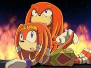 Knuckles And Tikal