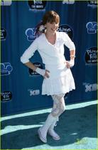 Allisyn Ashley Arm wearing White