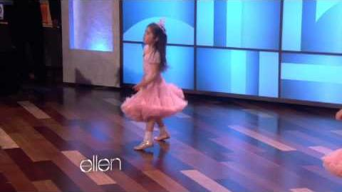 Sophia Grace and Rosie Dance!