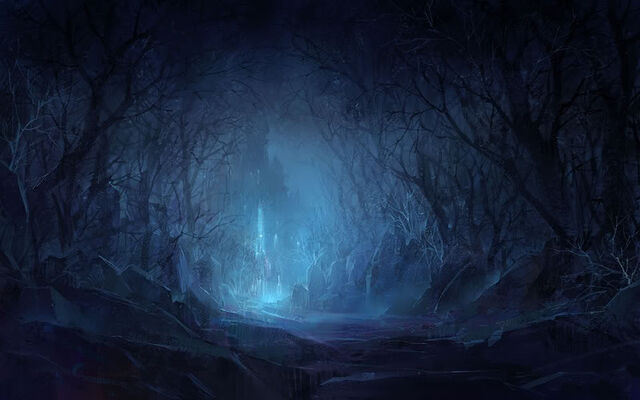 File:Night dark forest castle.jpg