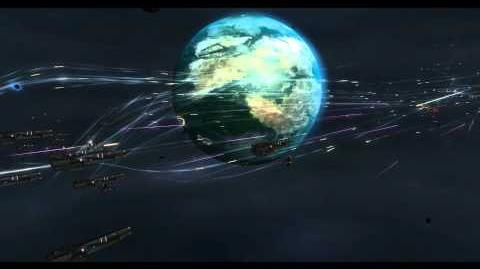 Sins of the Prophets huge space battle