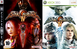 Soulcalibur IV covers