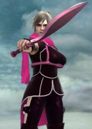 Nina Holding Butterfly Blade 2